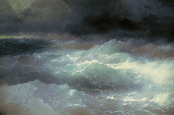 Ivan Aivazovsky. Among the waves