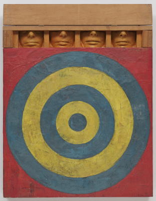 Jasper Jones. Target with four faces