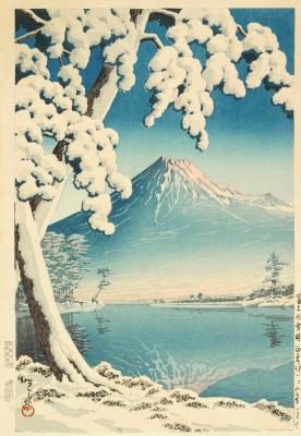 Хасуй Кавасэ. Yoshida, clear weather after snowfall. 1932-1944