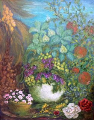 Rita Arkadievna Beckman. Oriental still life