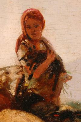 Фридрих Отто Геблер. Ребенок