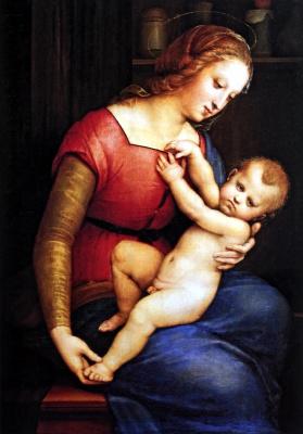 Raphael Sanzio. Madonna Orleans