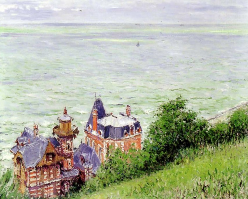 Gustave Caillebotte. Villa in Trouville