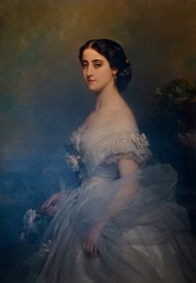 Franz Xaver Winterhalter. Adelina Patti