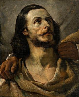 Théodore Géricault. Portrait of a man. Etude