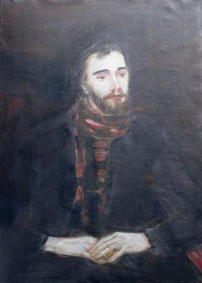 Victor Alexandrovich Skalkin. Portrait of an unknown