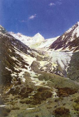 Василий Васильевич Верещагин. Ледник по дороге из Кашмира в Ладахк