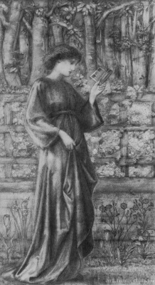 Edward Coley Burne-Jones. Queen of Sheba