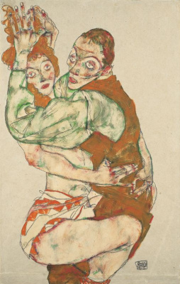 Egon Schiele. Sexual intercourse