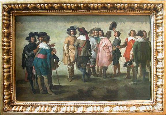 Хуан Батиста Мартинес дель Масо. Встреча тринадцати человек