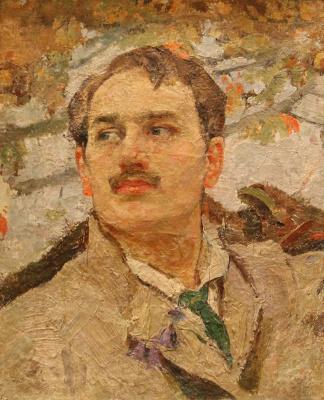 Fedor Grigorievich Krichevsky. Self-portrait