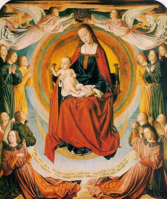 Жан Эй. Мадонна с младенцем