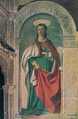 Пьеро делла Франческа. Святая Мария Магдалина