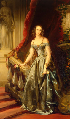 Кристина Робертсон. Портрет великой княжны Ольги Николаевны. (1822-1892). 1841