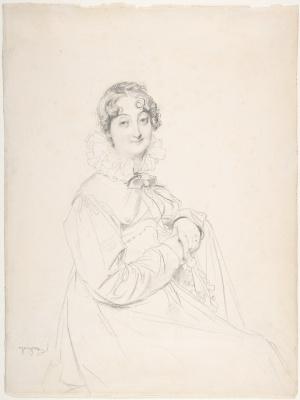 Jean Auguste Dominique Ingres. Constance de Levendal