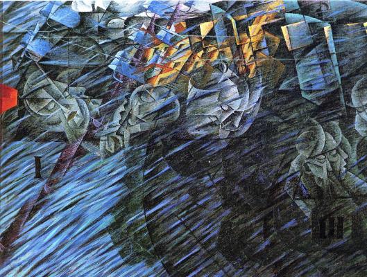 Umberto Boccioni. Plot 32