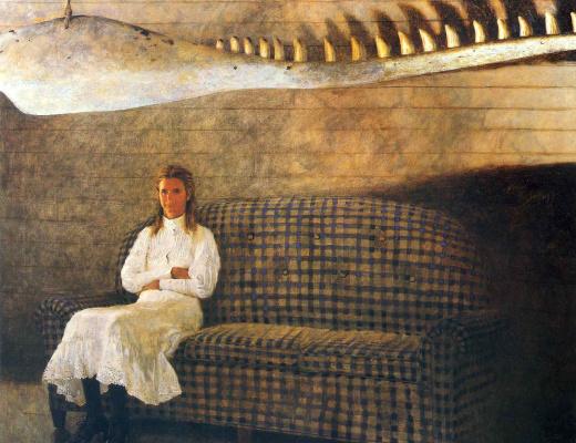 Джеймс Вуетх. Женщина на диване