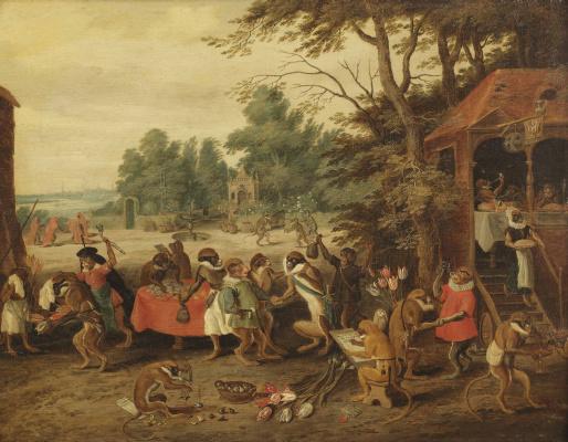 Jan Brueghel the Younger. Allegory of Tulipmania (II)