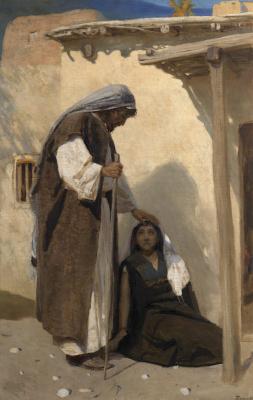 Василий Дмитриевич Поленов. Христос и Мария Магдалина