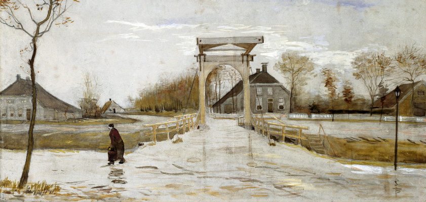 Винсент Ван Гог. Разводной мост в Амстердаме