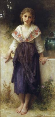 William-Adolphe Bouguereau. Rest time