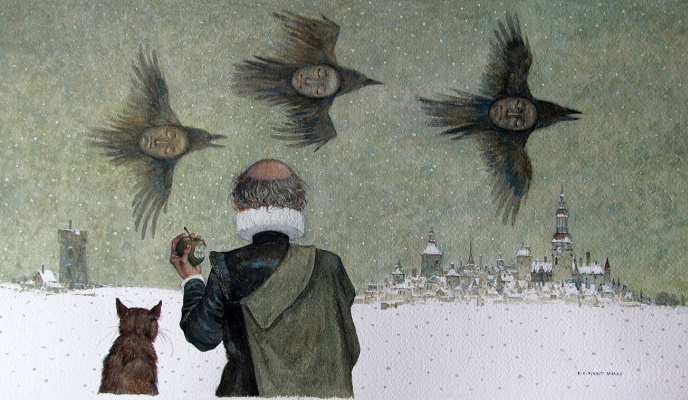 Konstantin Kalinovich. The end of the winter holiday
