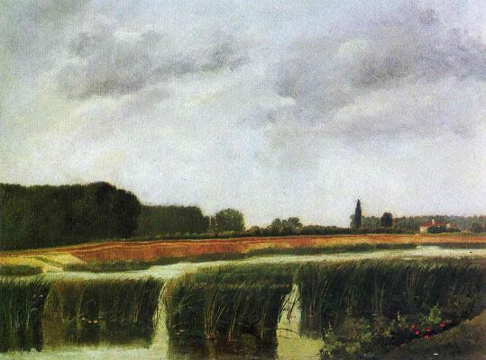 Henri Rousseau. Landscape