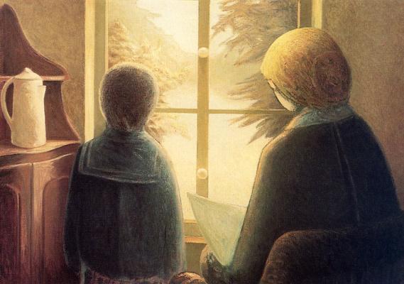 Антуан Прево. У окна