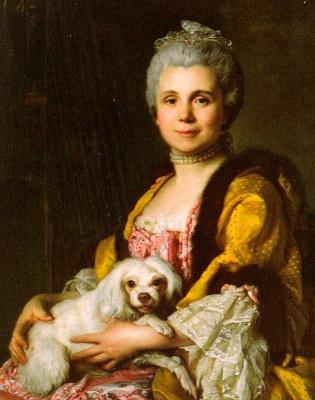 Жозеф Сиффред Дюплесси. Графиня с собакой