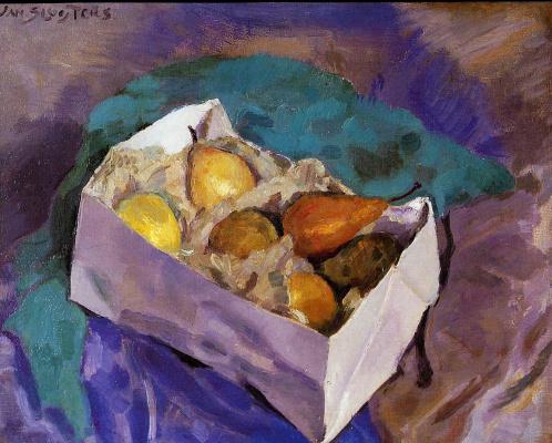 Ян Слёйтерс. Натюрморт с фруктами