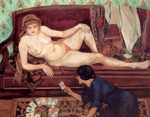 Suzanne Valadon. The naked future or fortune-teller