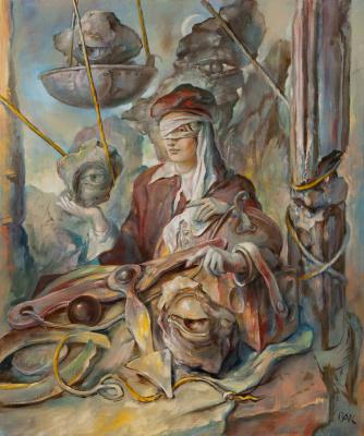 Samuel Bak. In Search of a Portrait B