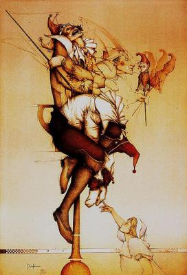 Michael Parkes. Jester