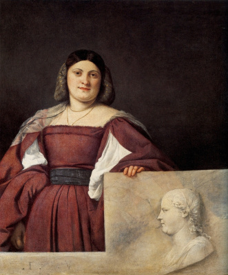 Titian Vecelli. Portrait of a woman