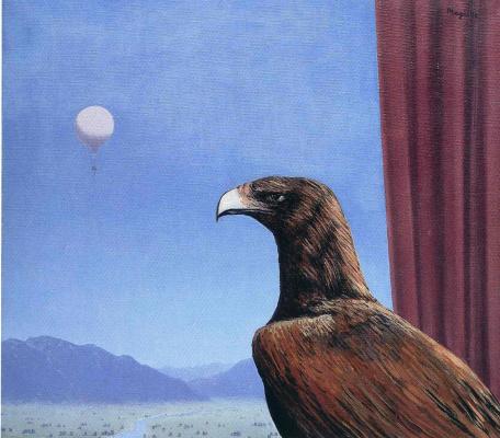 René Magritte. Midnight
