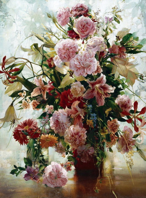 Larissa Alekseevna Psareva. Lilies
