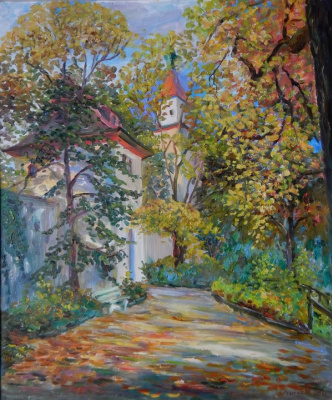 Marina Dmitrievna Razin. Germany. Autumn in Biberach. 2013