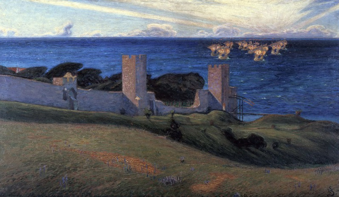 Sven Richard Berg. Vision: Scenes from Visby.