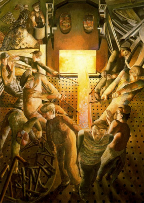 Stanley Spencer. Efforts