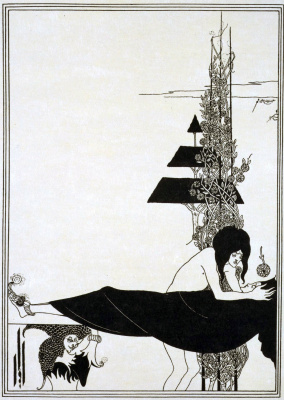 Aubrey Beardsley. Platonic Lament
