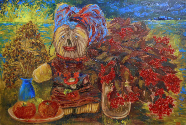 Владимир Иванович Осипов. The girl of my dreams, 76 - 50, oil, 09.17 G. ©