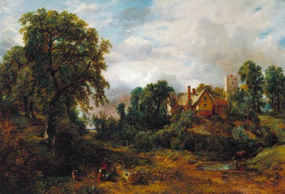 John Constable. The Glebe Farm
