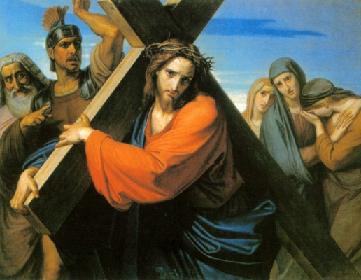 Fedor Antonovich Moller. The carrying of the cross