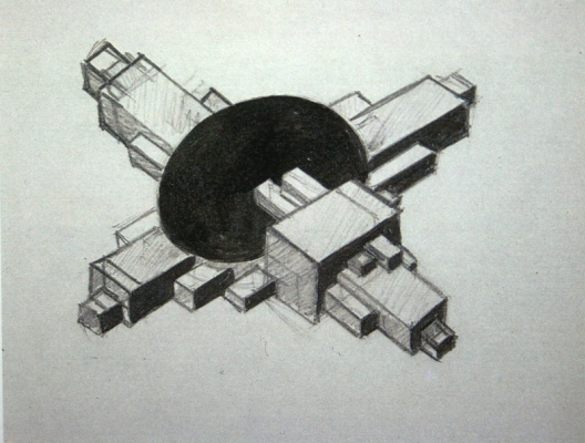Ilya Grigorievich The chashnikov. Architectural project
