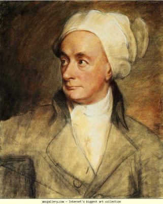 George Romney. William Cowper