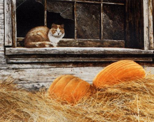 Ричард Беланже. Кот