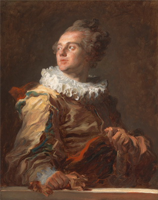 Jean-Honore Fragonard. Actor