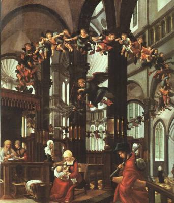 Albrecht Altdorfer. Virgin