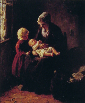 Бернард Потаст. Новорожденный