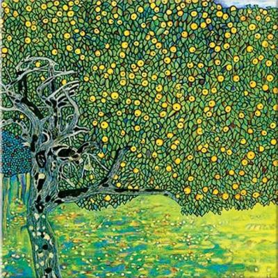 Густав Климт. Золотая яблоня